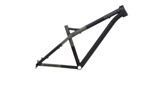 NS Bikes Eccentric Djambo 650B Plus Rama MTB czarny